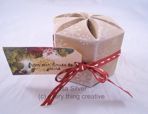 Silver Stamping Blossom Box Template From Every Thing Creative