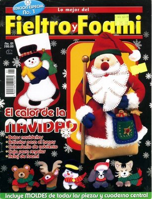 Fieltro y foamy