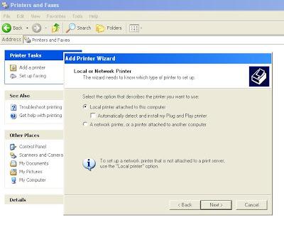 Cara Install Driver printer EPSON LX-300