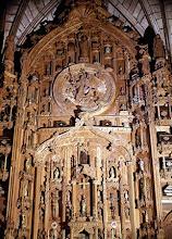 Altar de las reliquias en la Catedral de Santiago de Compostela.