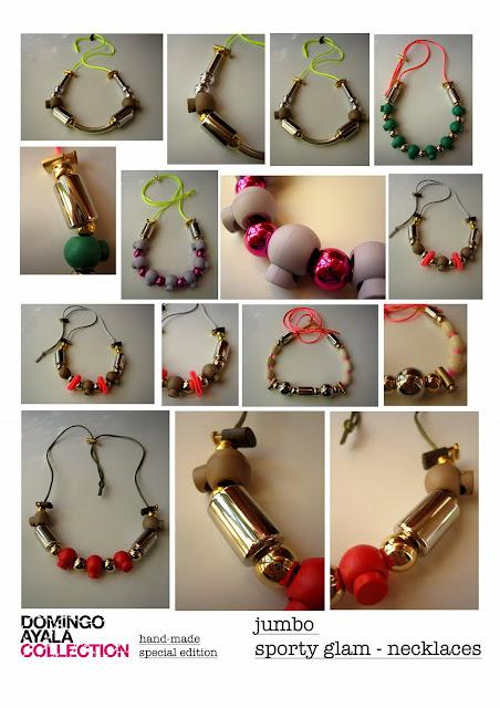 JUMBO SPORTY GLAM Domingo Ayala Handmade
