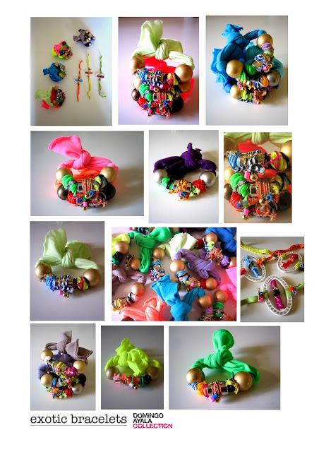 EXOTIC BRACELETS Domingo Ayala Handmade