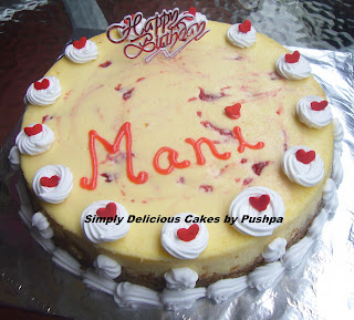 Cake Images Name Of Mani : SIMPLY DELICIOUS CAKES: Mani Birthday