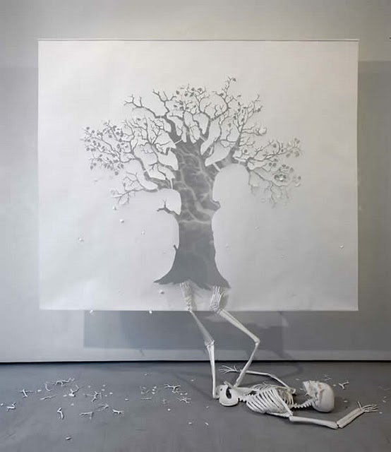 Amazing Paper Art By Peter Callesen Amazing Arts