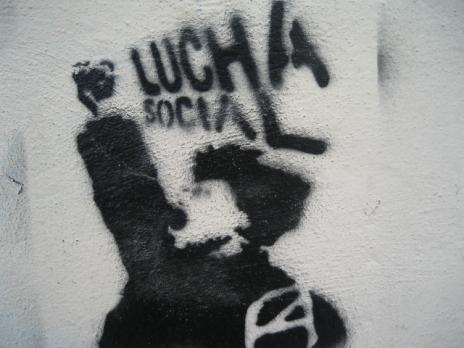 graffiti art de. San Cristobal de las Casas is