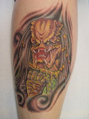 Wonderful Predator Tattoos Seen On www.coolpicturegallery.net 9.Totally