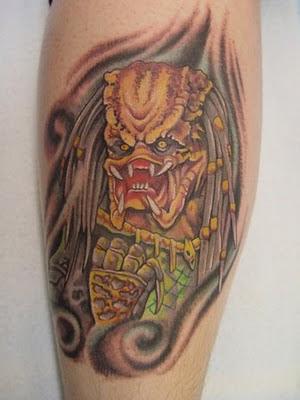 Wonderful Predator Tattoos Seen On www.coolpicturegallery.net