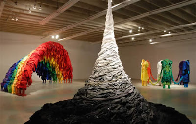 Amazing Sculptures Made From Recycled Clothing Seen On www.coolpicturegallery.net