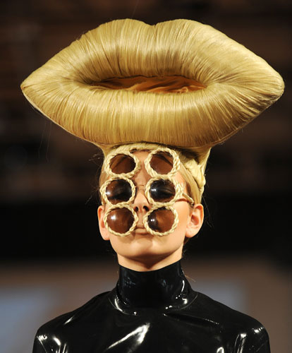 insane and craziest hairstyle