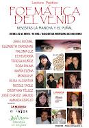 Afiche convocatoria lectura POEMÁTIVA DEL VENID, en donde participé / 2009