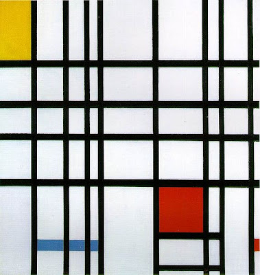 Piet Mondrian, Composition with Yellow, Blue, and Red