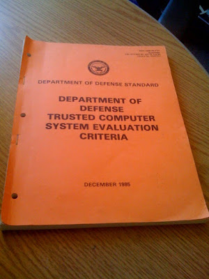 Devil's Advocate Security: Do You Have The Orange Book?