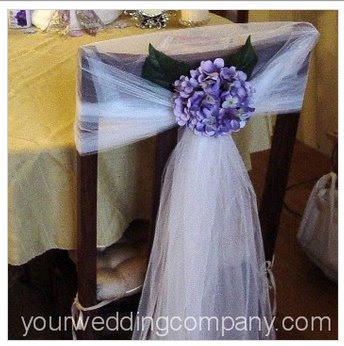 Centros de mesa para boda decoraci n de sillas para la boda for Silla quinceanera
