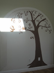 Mural for Baby to be......