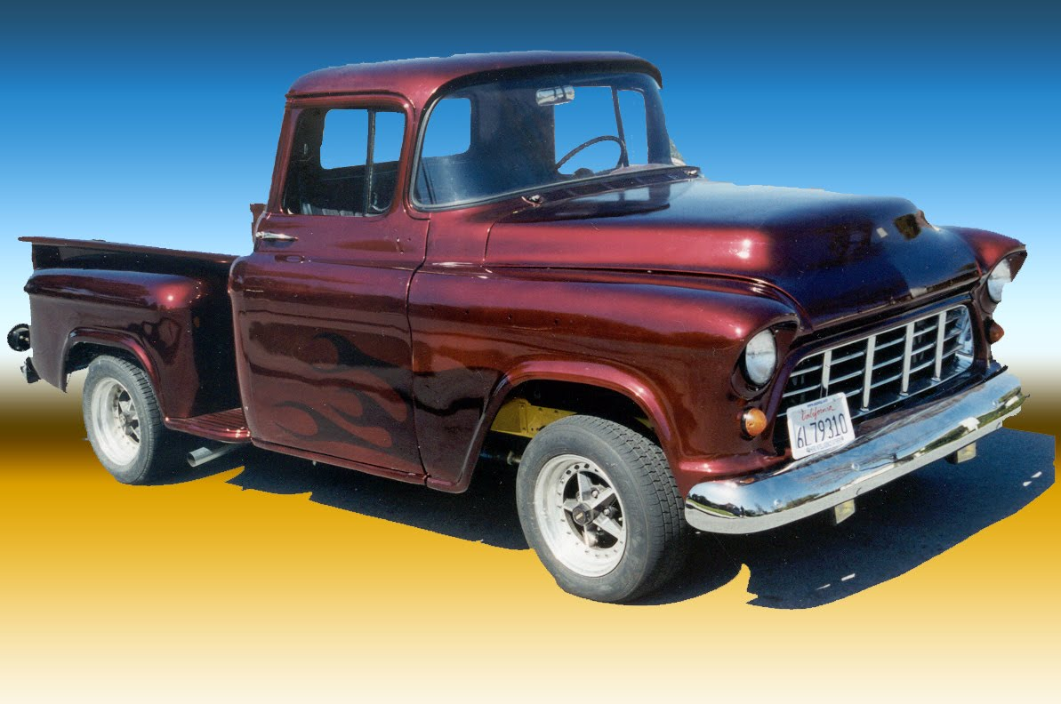 56 Chevy Pickup For Sale: 1956 Chevy Pick-up Truck for Sale