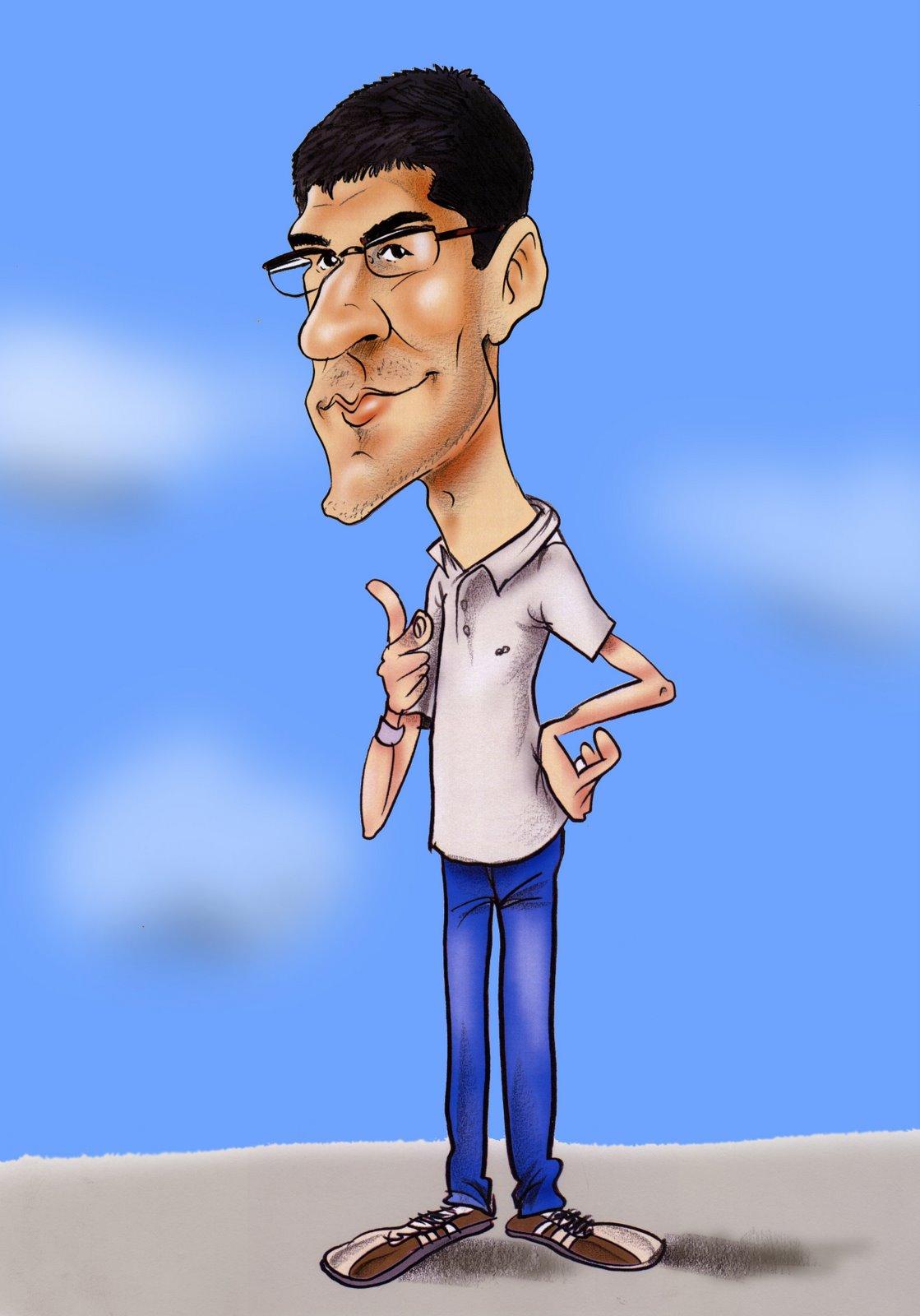 Jo, jo mateix i les meves caricatures