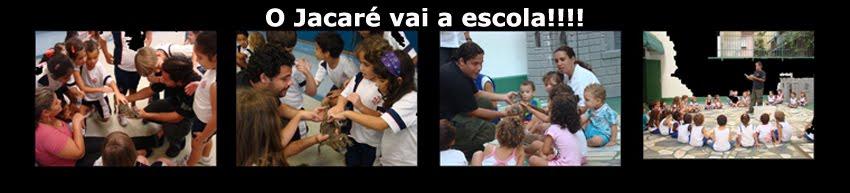 O JACARÉ VAI A ESCOLA!!