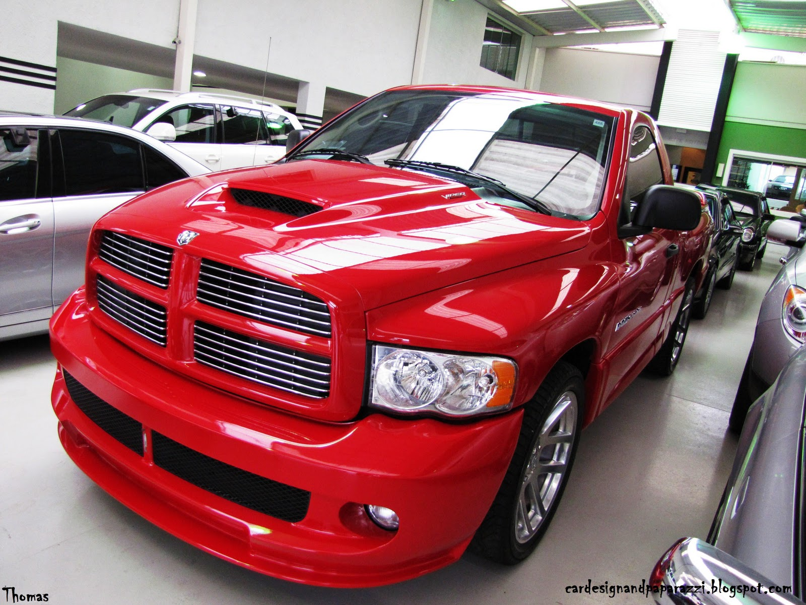 car design and paparazzi  dodge ram srt 10