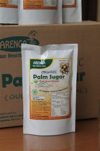 dalam setiap karton box berisi 30 bags gula semut palm sugar 225 gram