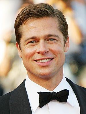 Brad Pitt with Short Hair