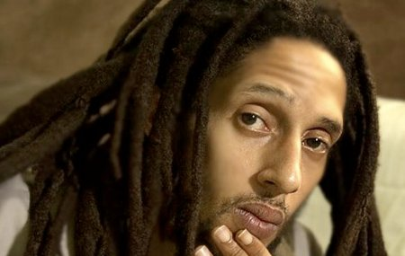Hairstyles For Dreadlocks For Men. Julian Marley with Dreadlocks
