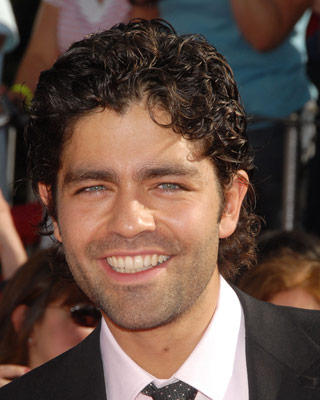 Curly Hair For Men. Adrian Grenier with Curly