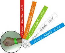 Pulseiras VIP - Fone: (61) 3358-2226