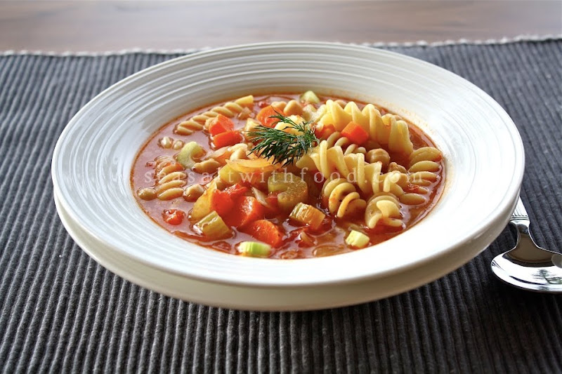 Seasaltwithfood: Pasta E Ceci-Pasta And Chickpea Soup