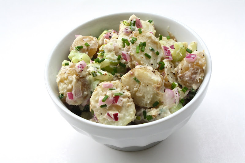 Seasaltwithfood: Nugget Potato Salad With Horseradish