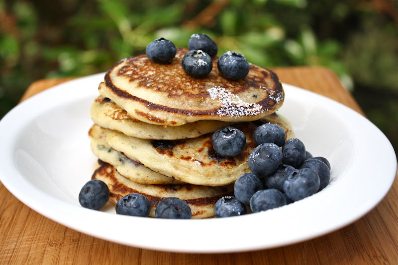 Seasaltwithfood: Blueberry-Buttermilk Pancakes