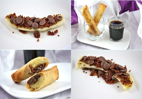 spring rolls chinese chicken spring rolls banana chocolate spring roll ...