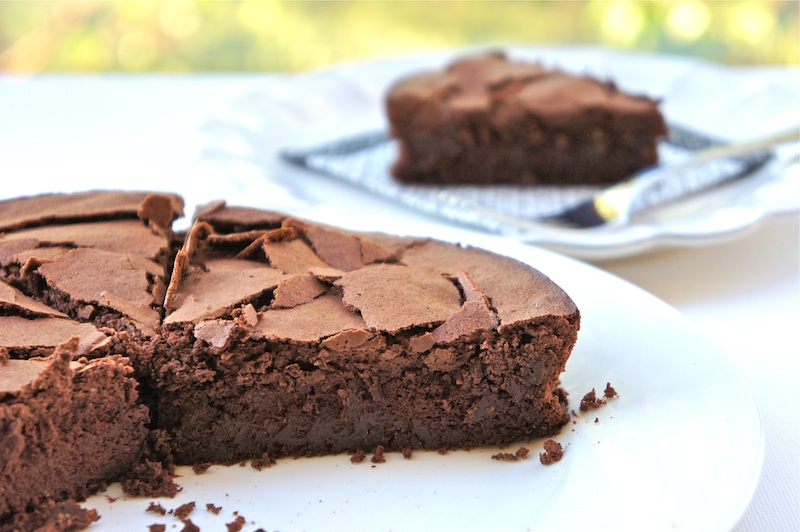 Fallen Chocolate Cake Recipe — Dishmaps