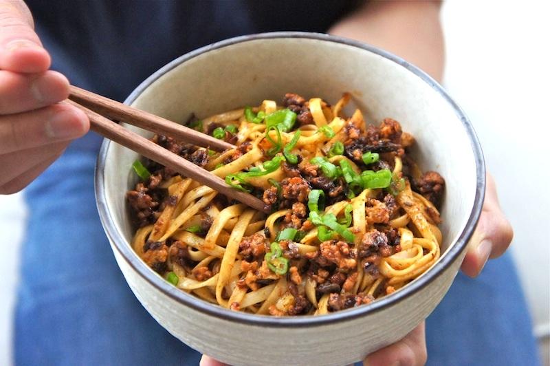 Seasaltwithfood: Dan Dan Mien (Noodle)