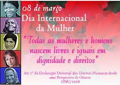 Homenagem do FBES ao Dia Internacional da Mulher 08 de março de 2008
