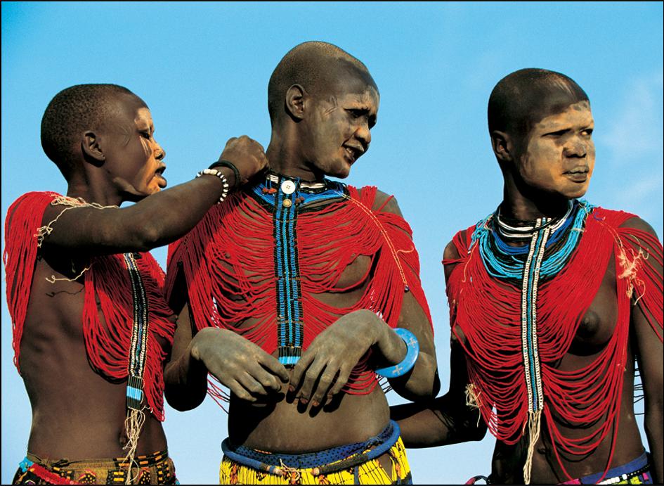 Algunas de las tribus africanas más raras.