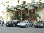Utanför Casinot i Monte Carlo