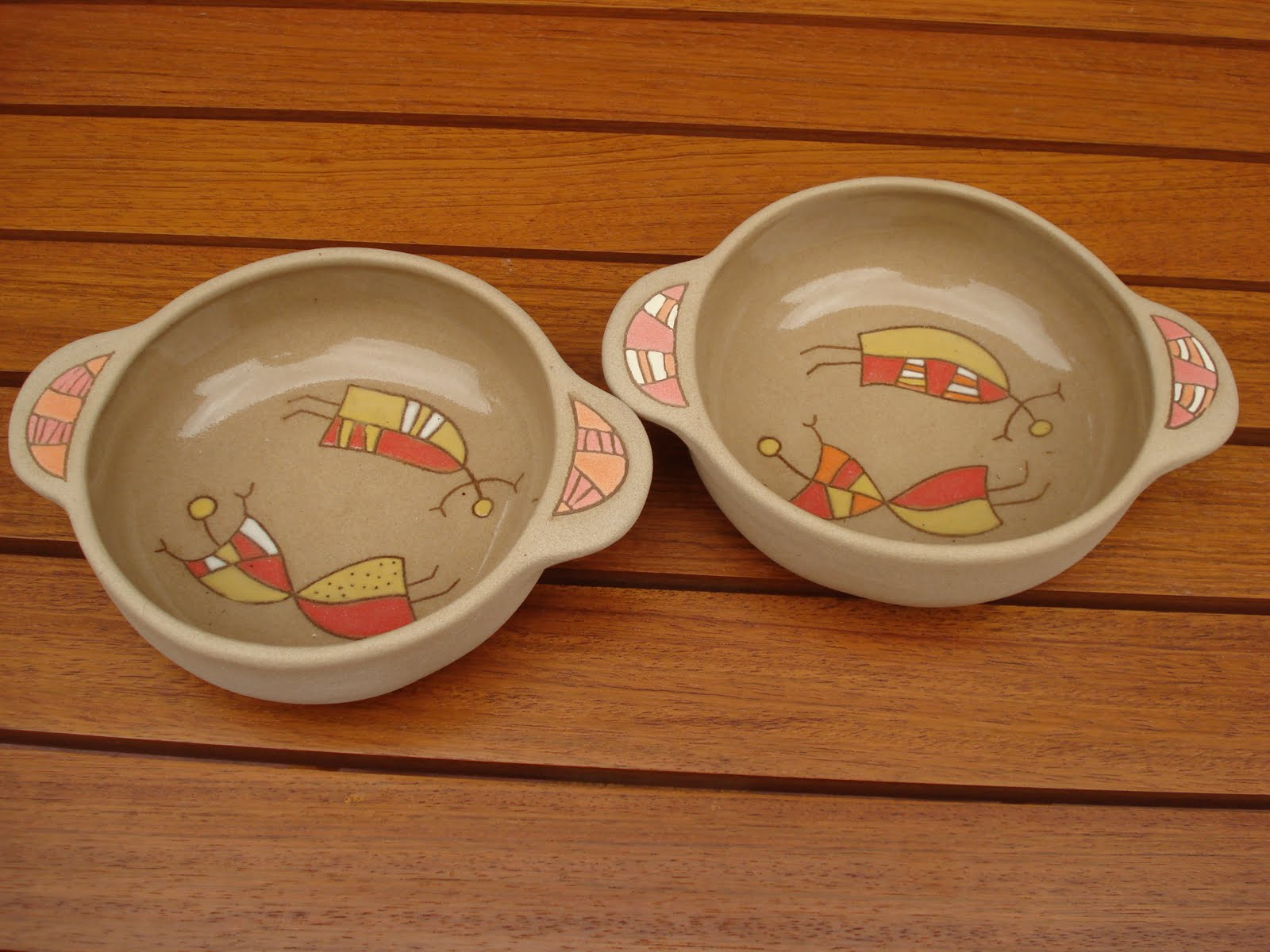 Ceramica El Cuenco Linea Tostada