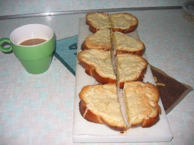 Talk More Later: Bostock or the best almond breakfast bread ever