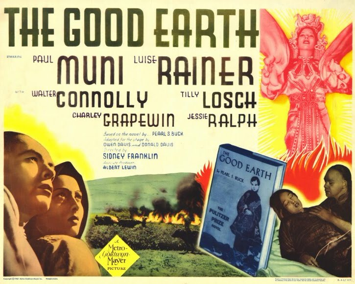 an analysis of the good earth in 1937 Dive deep into pearl s buck's the good earth with extended analysis the good earth analysis the good earth was filmed by metro goldwyn mayer in 1937.