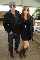 Bruce Springstein and Patti Scialfa - Photo by Rob Rich