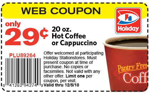 Holiday Stationstores is a series of gas station locations that offers much more convenience than many others. They have a fantastic points reward system that allows customers to earn savings on gas, products in the station and customers can even get amazing deals on coffee too.
