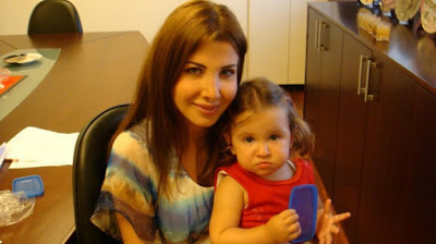 Nancy Ajram et sa fille Mila (Photos)