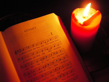 [candle.one+w+advent+hymn]