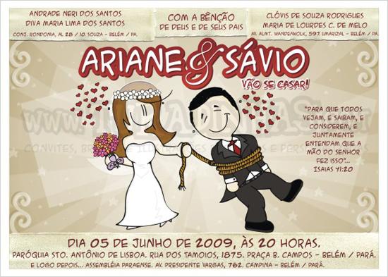 Felipe E Roberta Convite De Noivado E Casamento