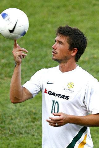 Name: Harry Kewell Team: Australia (World Cup); Galatasaray (professional)