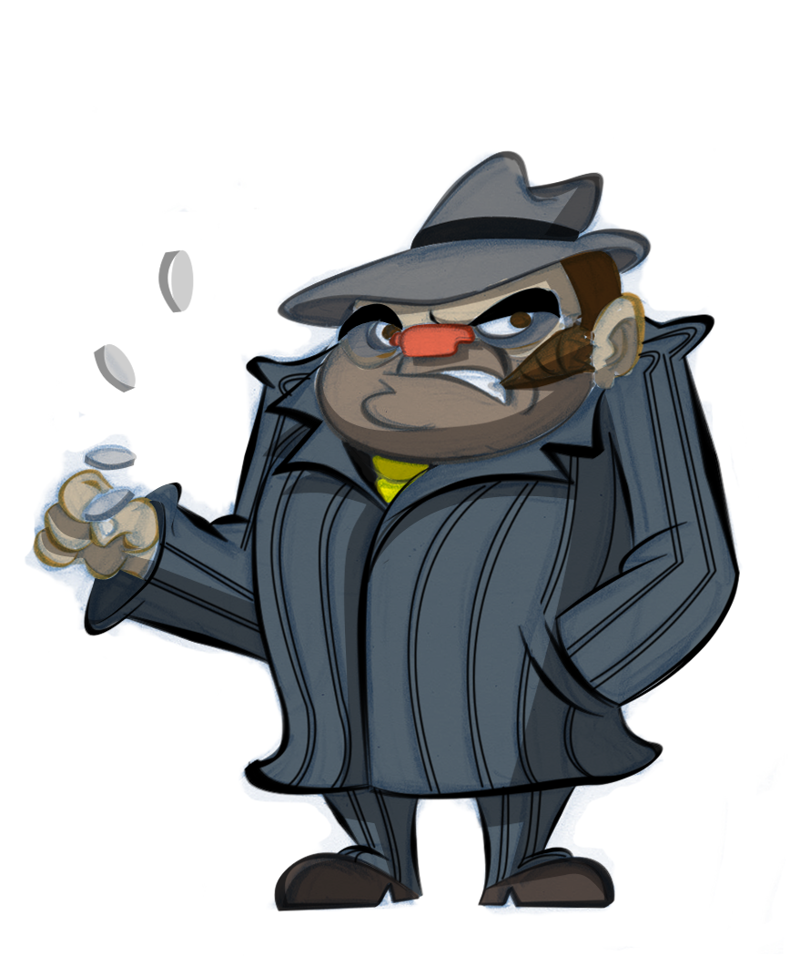 Cartoon Characters Gangster : Game thread tigers  royals may