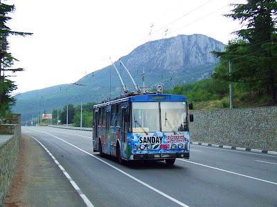 Крымские троллейбусы попали в Книгу Рекордов Гиннесса