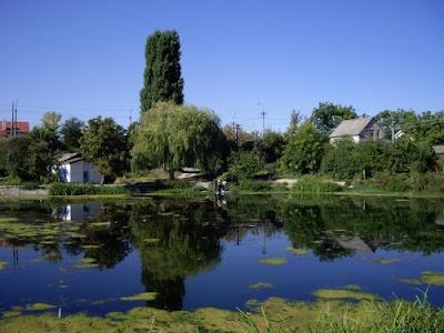 Исток речки Славянка в Симферополе