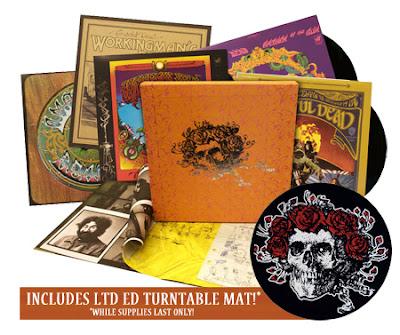 grateful deadd collection - Grateful Dead Warner Bros. Studio Albums 5LP Box Set