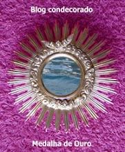 """Prémio """"Medalha de Ouro para Quem é Luz e Quer Iluminar""""..."""